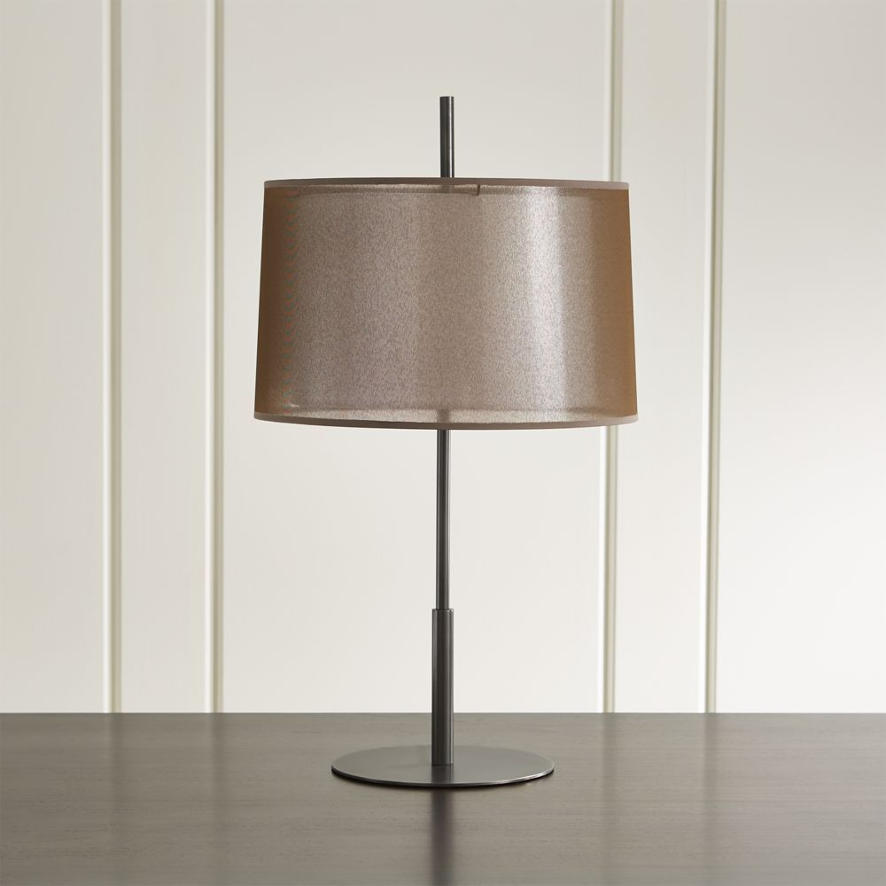 crate and barrel lighting fixtures. Eclipse Bronze Table Lamp - Crate And Barrel Lighting Fixtures T
