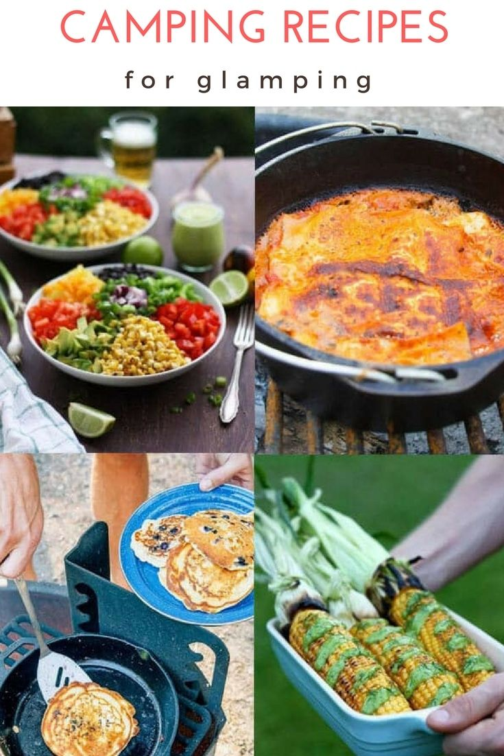 Recipes For A Happy Camper Camping Recipes Trail