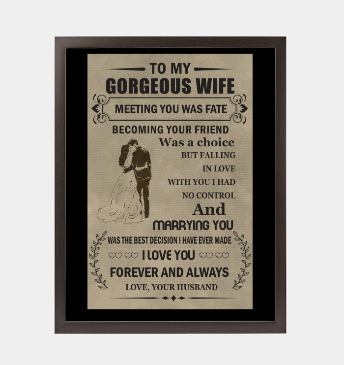 Gifts For Husband On Wedding Night: Gift For Wife From Husband