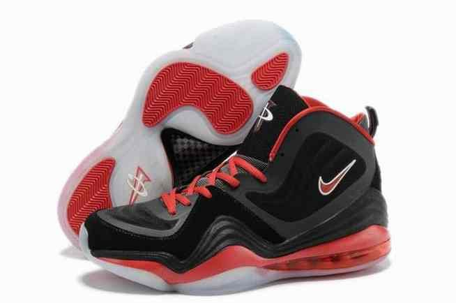 2015 For Sale Air Penny Hardaway 5 V Mens Shoes Discount Black White Red…