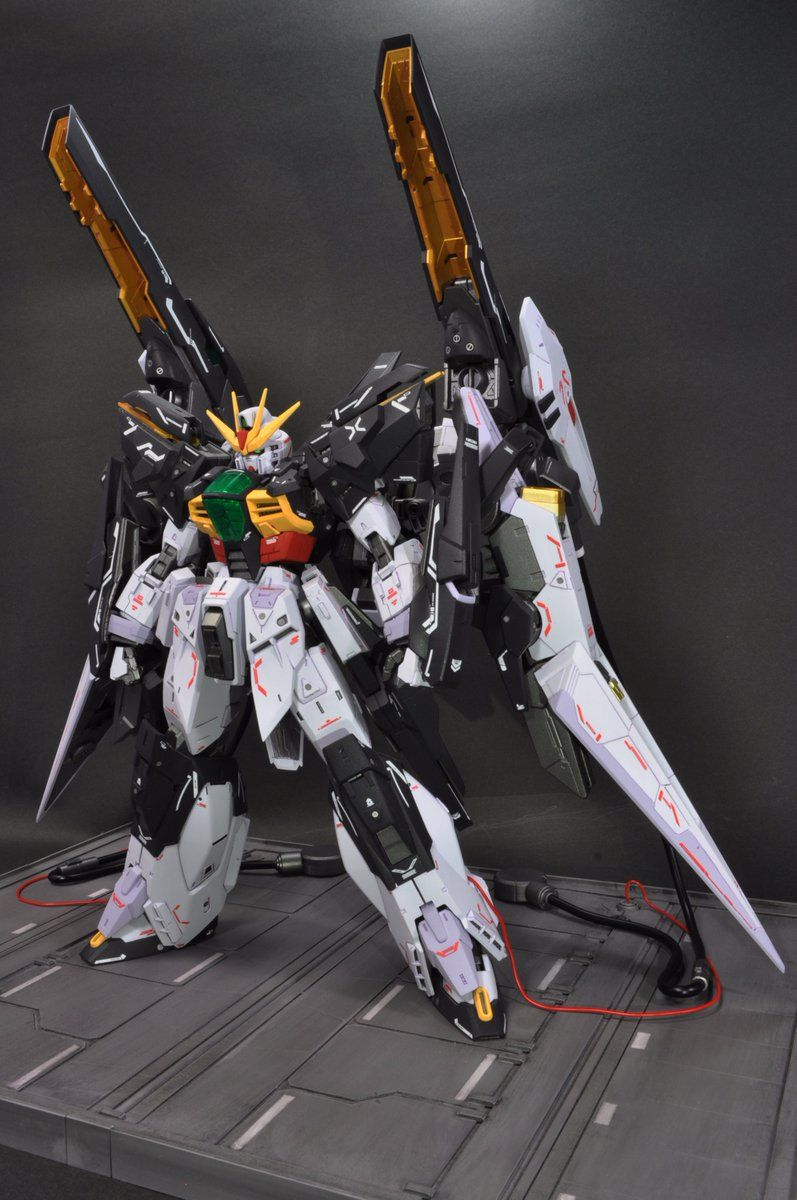 Custom Build MG 1/100 Gundam Double X [GBWC 2017
