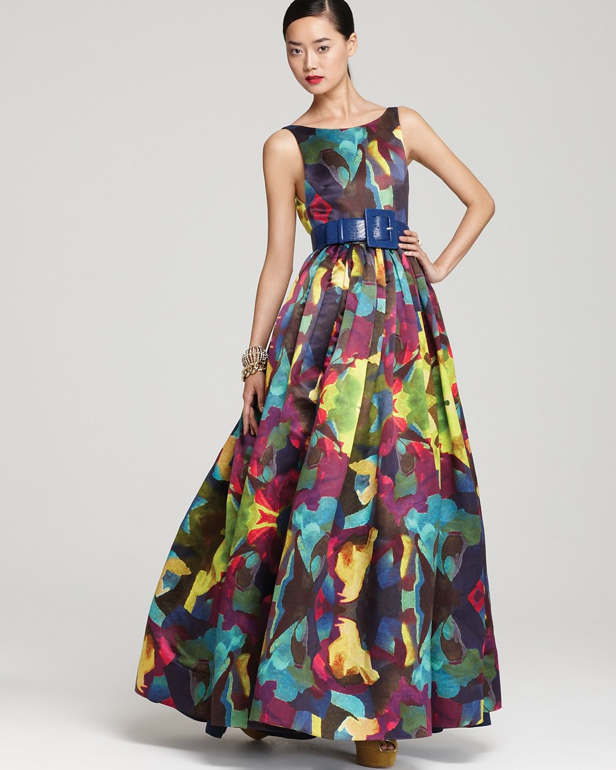 Fell in love with this dress alice olivia gown printed fell in love with this dress alice olivia gown printed bloomingdales junglespirit Images