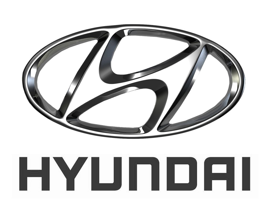 Large Hyundai Car Logo Car Logo Pinterest Hyundai Cars Car - Car signs and namescar logos with wings azs cars