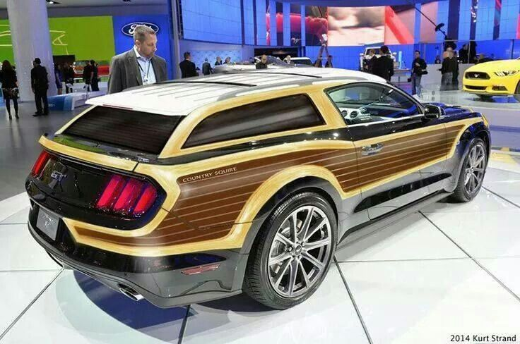 Ford Mustang GT Country Squire Wagon concept | Cars: Vintage ...
