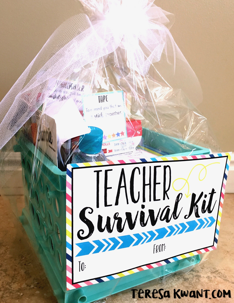 back to school survival kits working with teachers pinterest