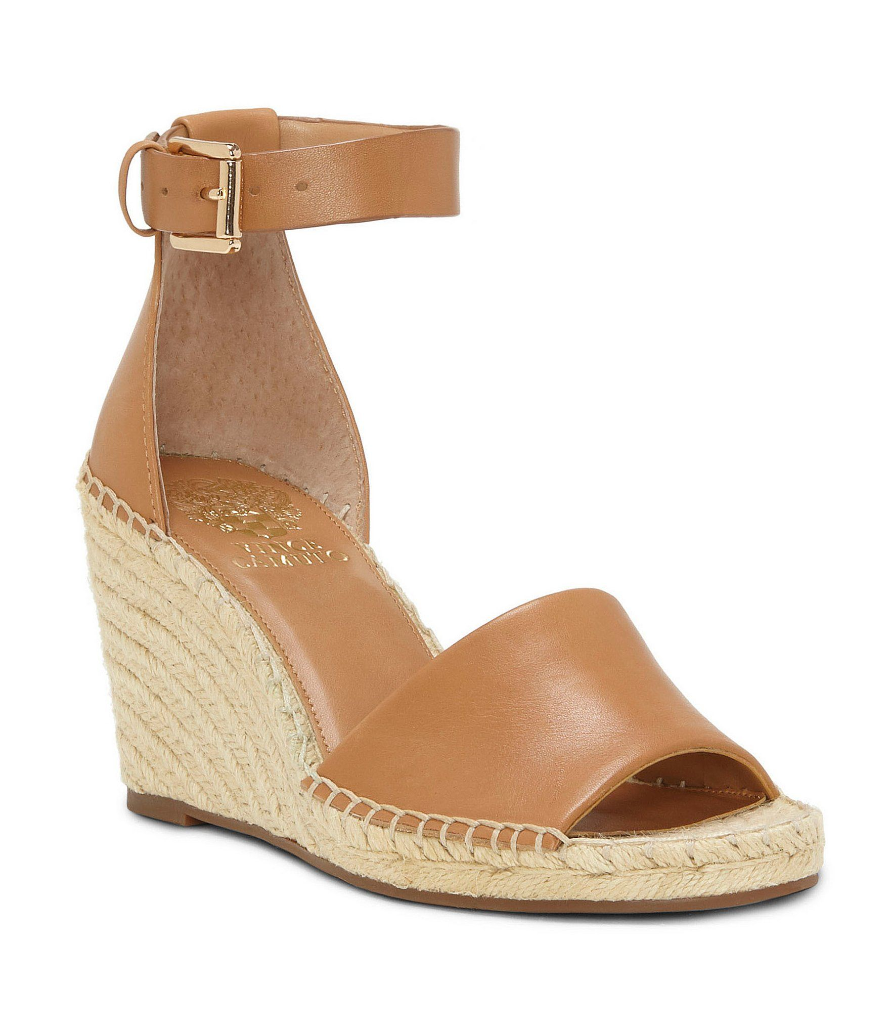 60374f22f3189 Vince Camuto Leera Ankle Strap Espadrille Wedge Sandals in 2018 ...
