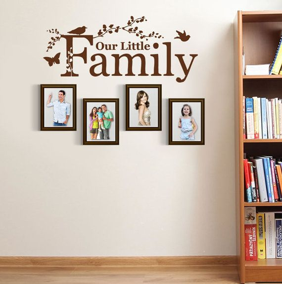 our little family wall sticker by wallchick on etsy on wall stickers for home id=47743