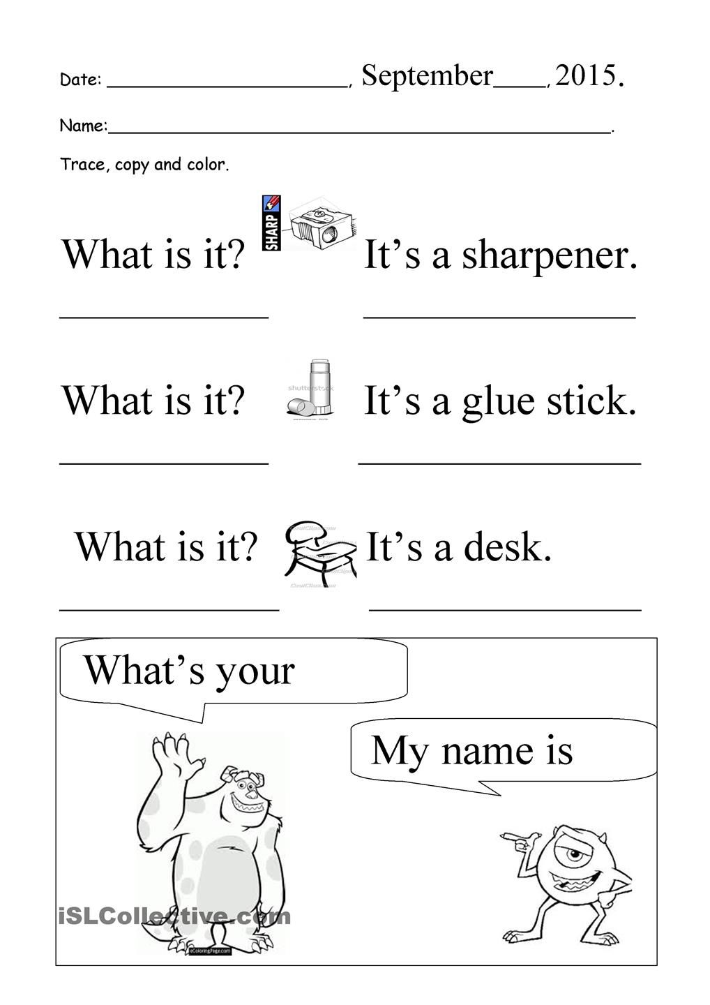 Worksheets Trace Your Name Worksheets what is it whats your name trace and copy places to visit copy