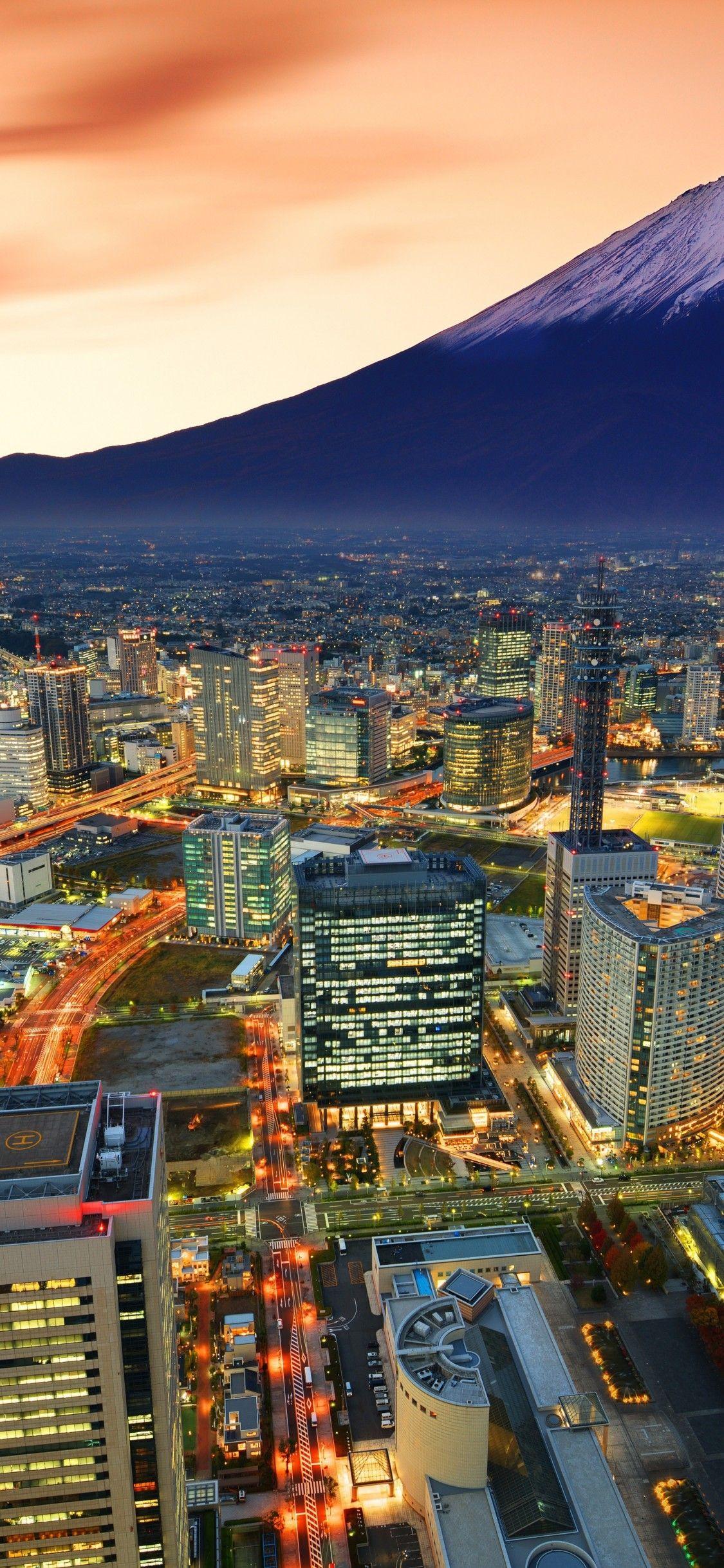 اجمل صور خلفيات ايفون X في العالم Top Iphone X Wallpapers عالم الصور Mount Fuji Natural Landmarks World