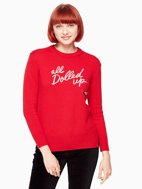 12dcda8fe19 Kate Spade All Dolled Up Sweater
