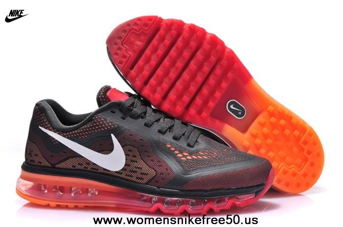 Black Red Nike Air Max 2014 Mens Shoes Nike air max, Nike  Nike air max, Nike
