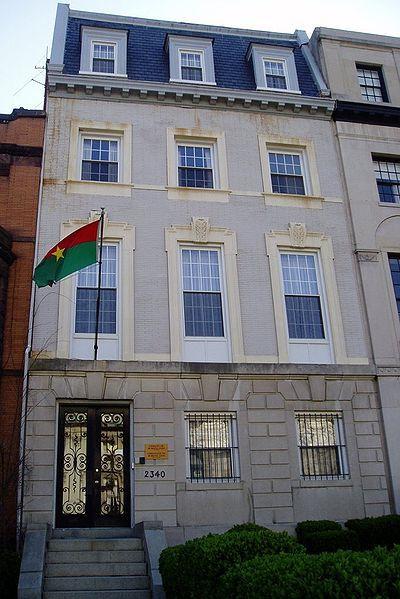 The embassy of Burkina Faso, Washington, D.C.