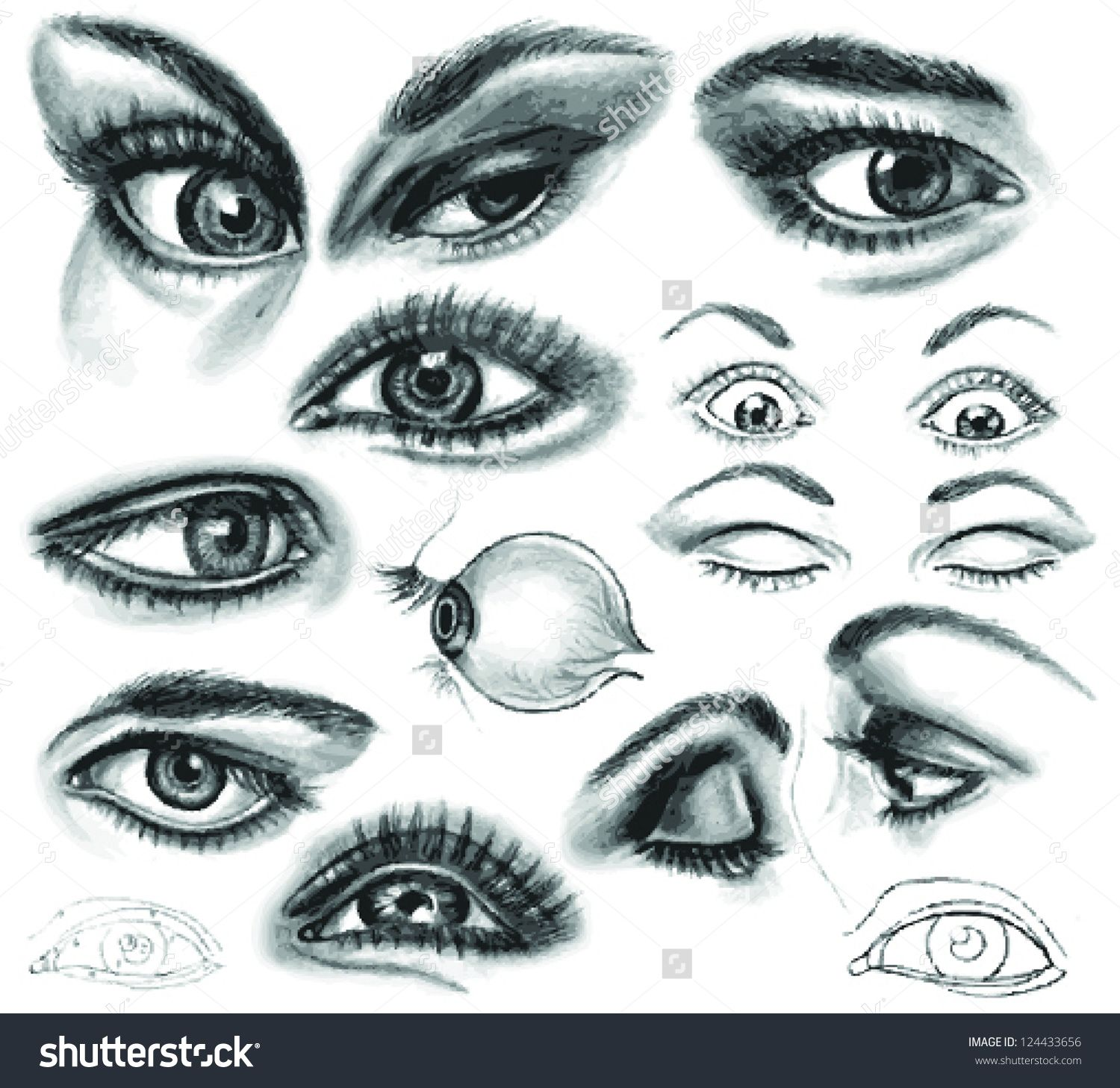 25 Amazing Drawings of Eyes Online Drawing Lessons ...