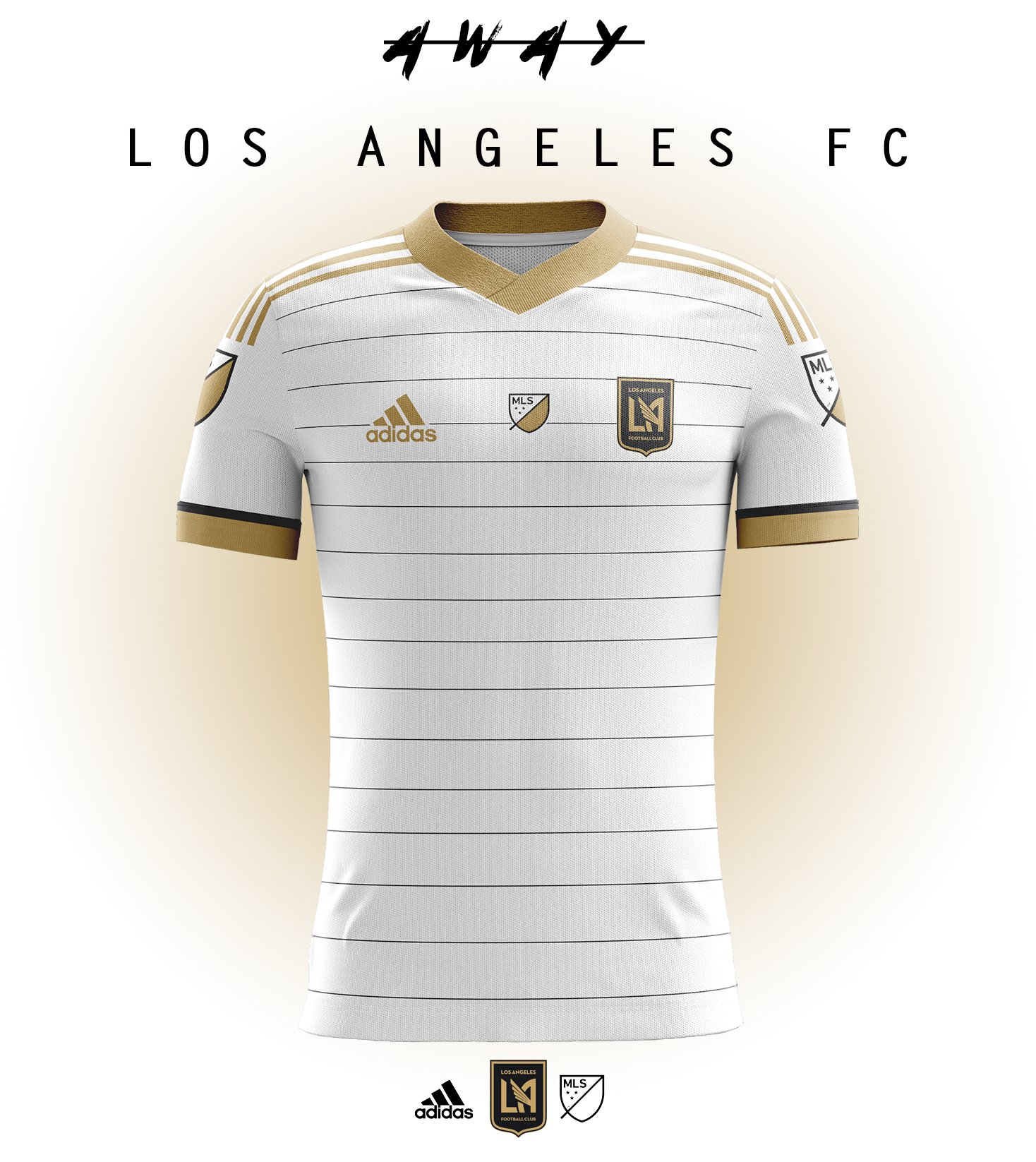 more photos 57caa fd84c Kits concept for future MLS team, Los Angeles FC.