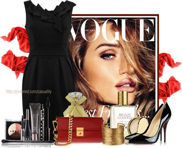 """Vogue Magazine"" by casuality on Polyvore"