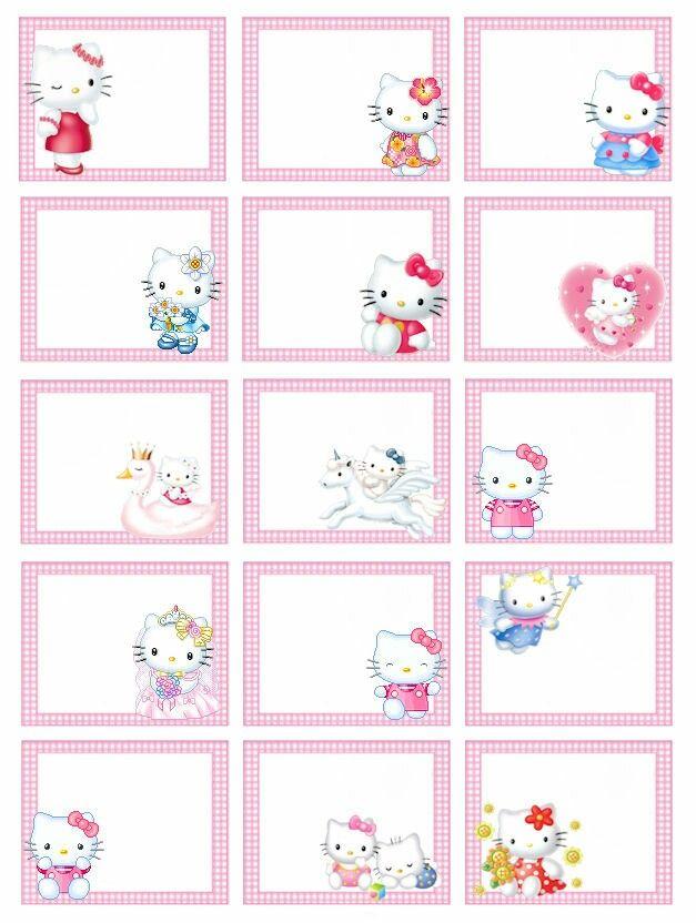 etiquetas Kitty barbie Pinterest Hello kitty, Kitty and Hello
