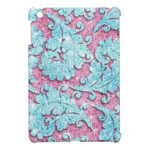 Girly paisley pattern, pink & teal glitter photo case for the iPad mini We provide you all shopping site and all informations in our go to store link. You will see low prices onDiscount Deals          Girly paisley pattern, pink & teal glitter photo case for the iPad mini Onl...