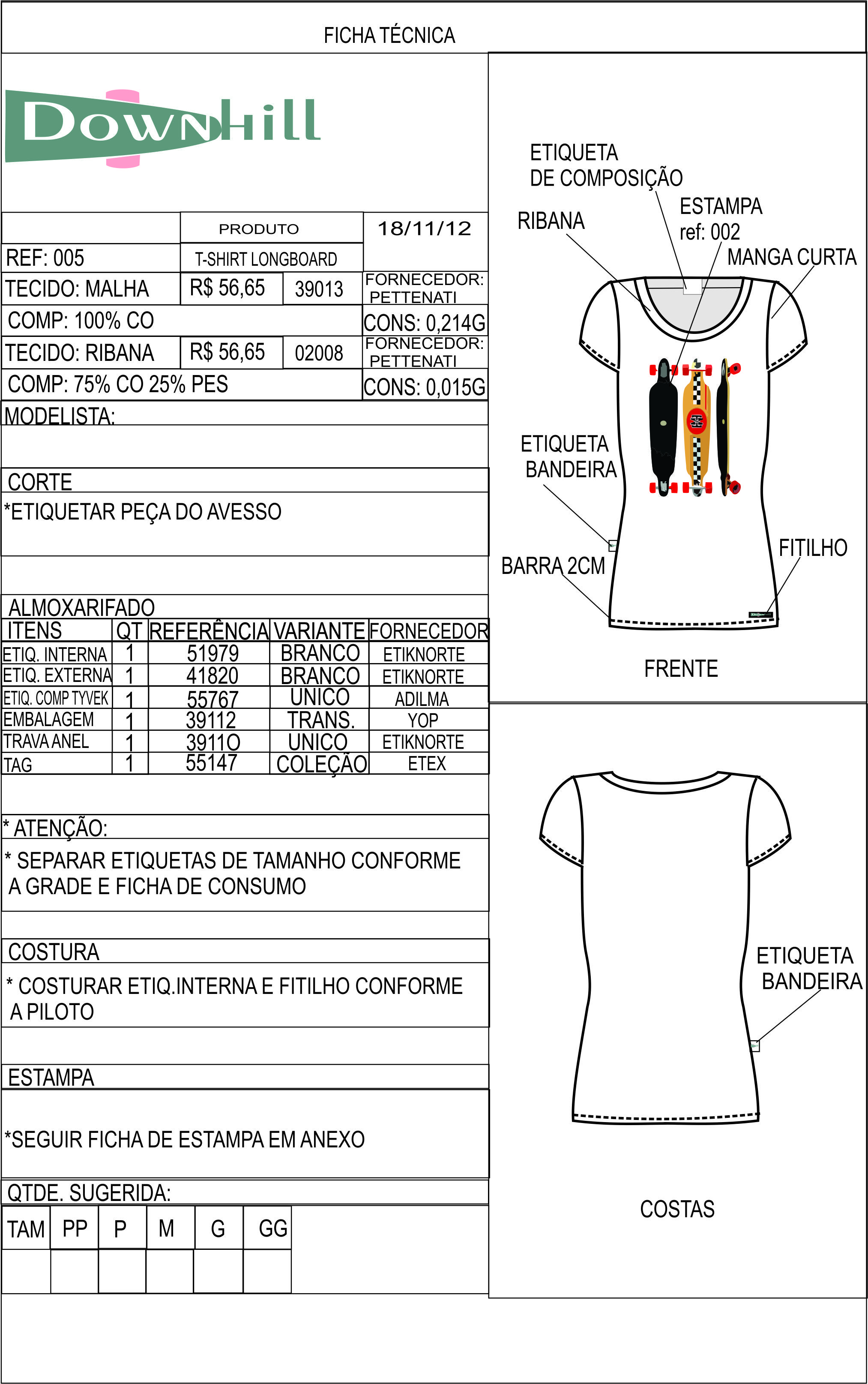 FICHA TÉCNICA2 | Technical Drawing | Pinterest