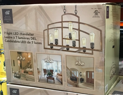 Costco Led String Lights Chandelier  Costco  Lighting  Pinterest  Costco Chandeliers And