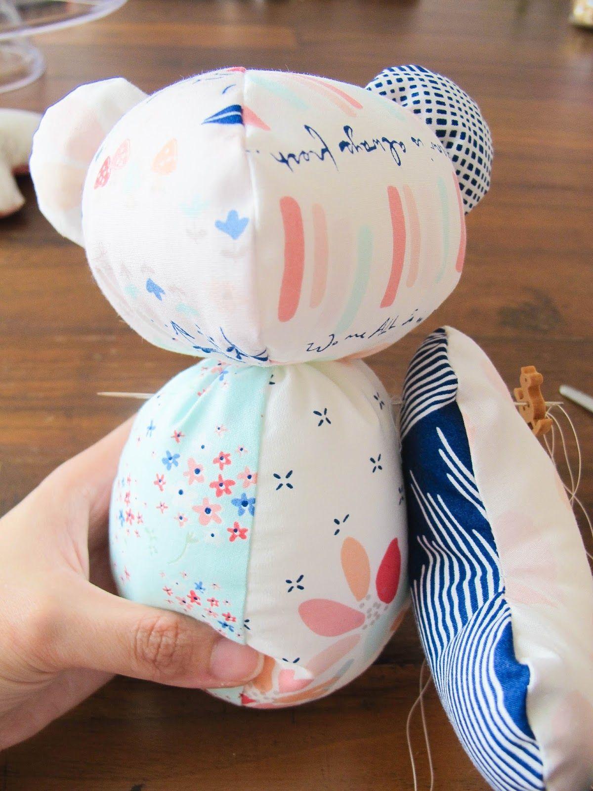 Teddi The Bear Pattern Free
