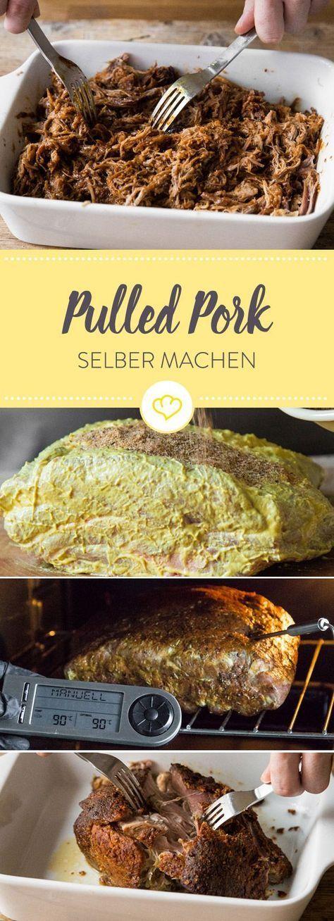 Pulled Pork: Den saftigen Grillfavoriten ganz einfach ...