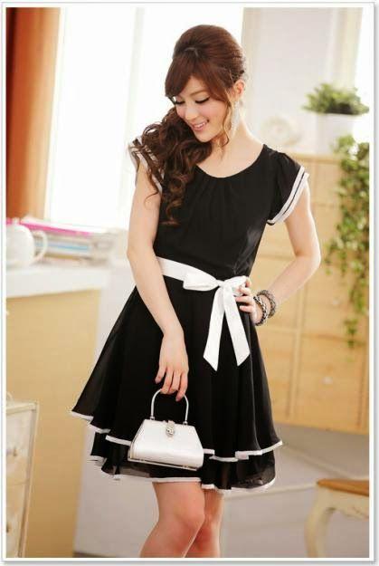 Vestidos de moda asiatica para mujer