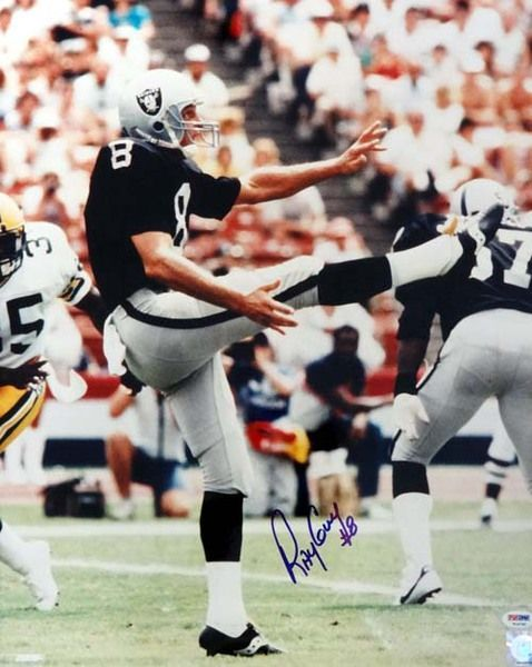 Ray Guy Autographed 16x20 Photo Raiders PSA/DNA