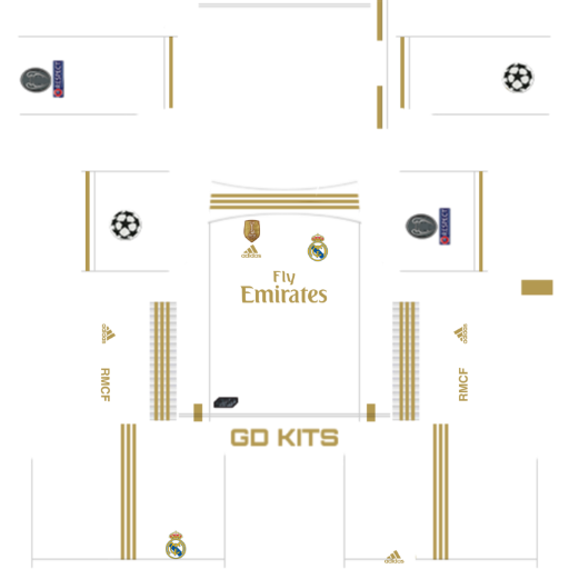Kits Real Madrid Uefa Champions League 2019 2020 Dls Fts 15 Real Madrid Kit Real Madrid Real Madrid Logo