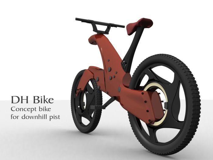DH Bike, VTT de descente design