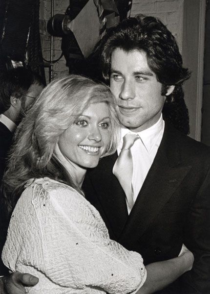 "Olivia Newton John and John Travolta. She's so pretty, ""I ..."