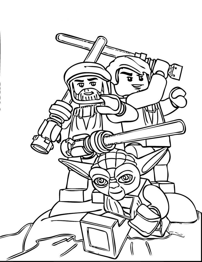 Star Wars Lego Coloring Pages 1 See the category to find