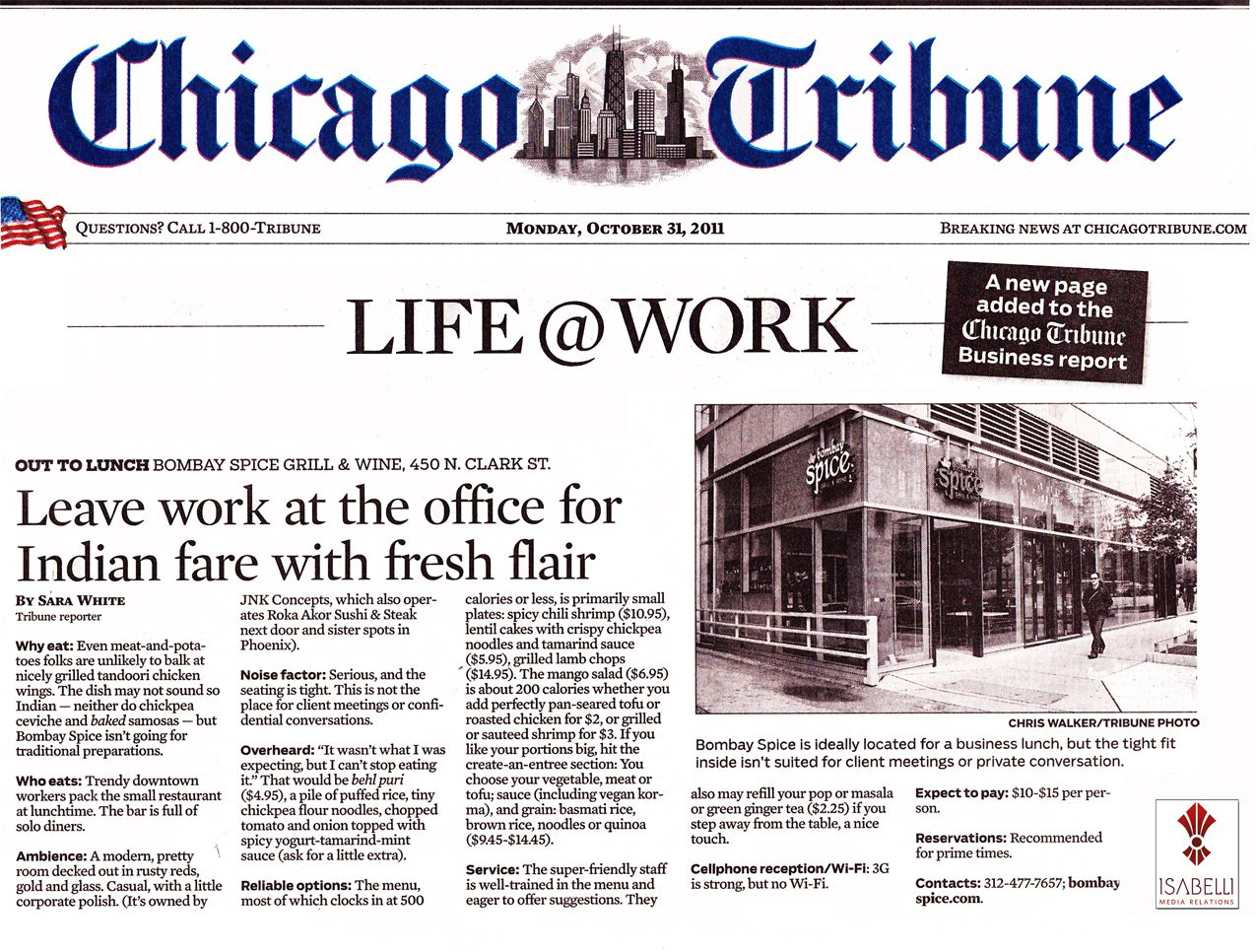 chicago tribune highly recommended - HD 1275×966