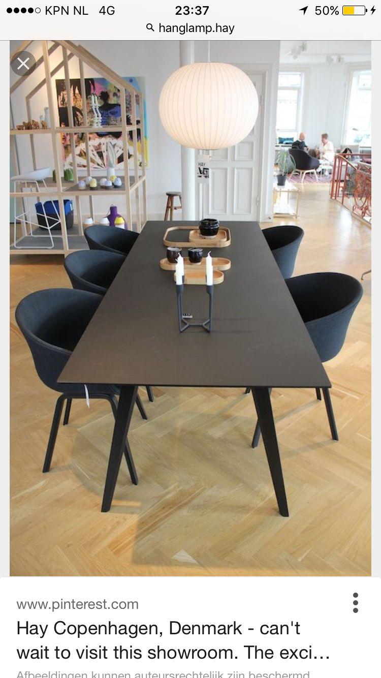 Hay Tafel En Stoelen Chair Dinning Table Dining Area Kitchen