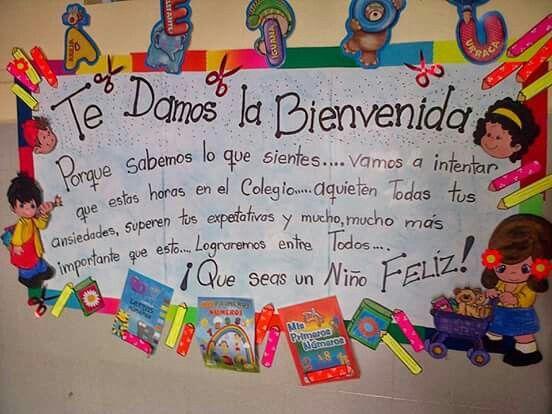 Bienvenidos a la escuela   IDEAS ESCUELA   Pinterest ...