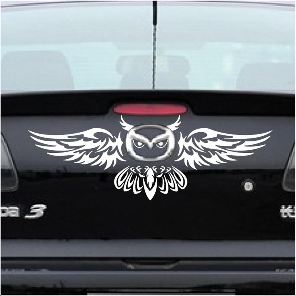 Newest Car Rear Logo Decoration Owl Styling Funny Car Sticker Car Stickers Funny Car Stickers Car Brands Logos [ 1000 x 1000 Pixel ]