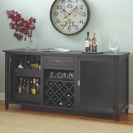 Firenze Wine And Spirits Credenza Nero 335 16 04 Good Coolers