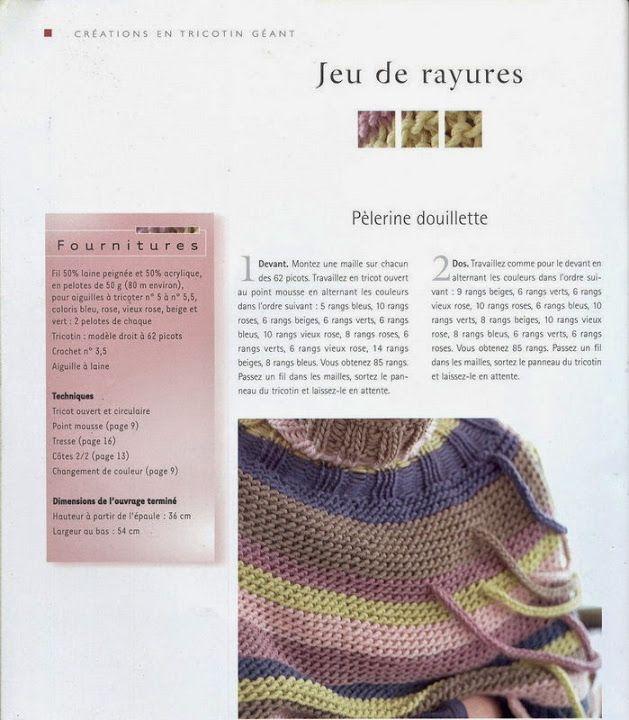 tricotin geant droit