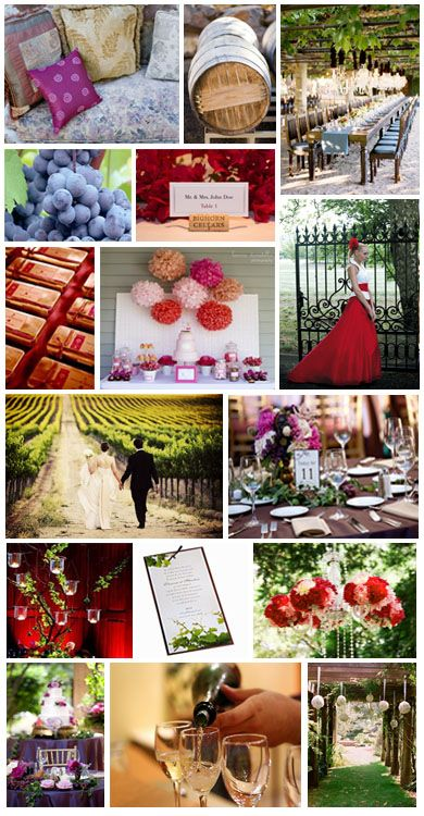th me de mariage vin et vendanges wedding d corations pinterest mariage wedding and. Black Bedroom Furniture Sets. Home Design Ideas