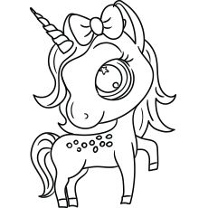 Top 50 Unicorn Coloring Pages For Toddlers | Unicorn ...