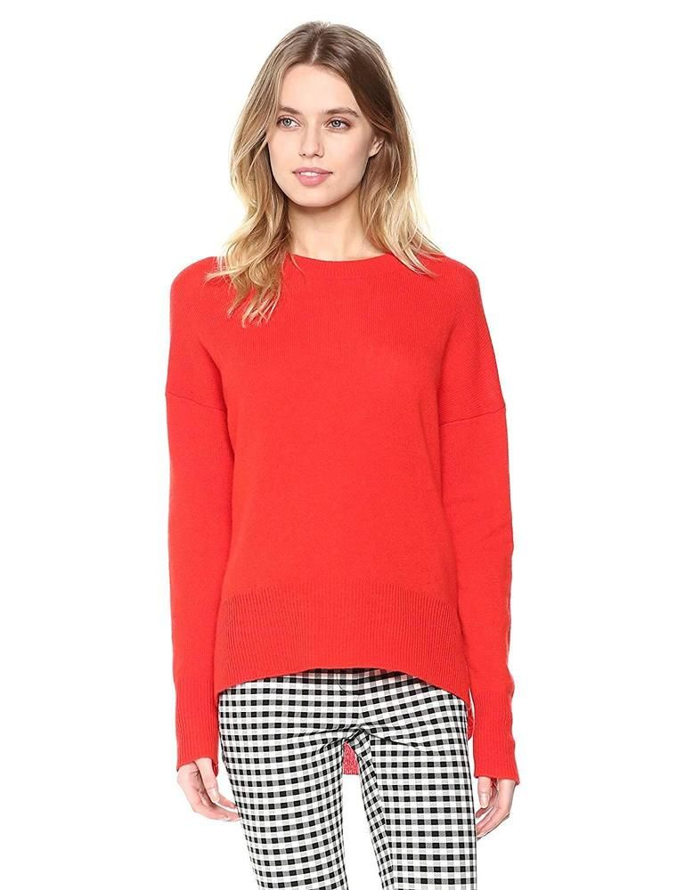 b3564178588 Theory Women s Long Sleeve Karenia Crewneck Sweater  fashion  clothing   shoes  accessories  womensclothing  sweaters (ebay link)