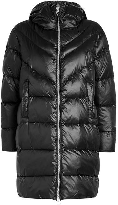 Blauer Quilted Down Coat   Daunenmantel in 2019   Pinterest   Down ... 505f4bd681