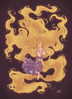 """My Hair Glows When I Sing."""