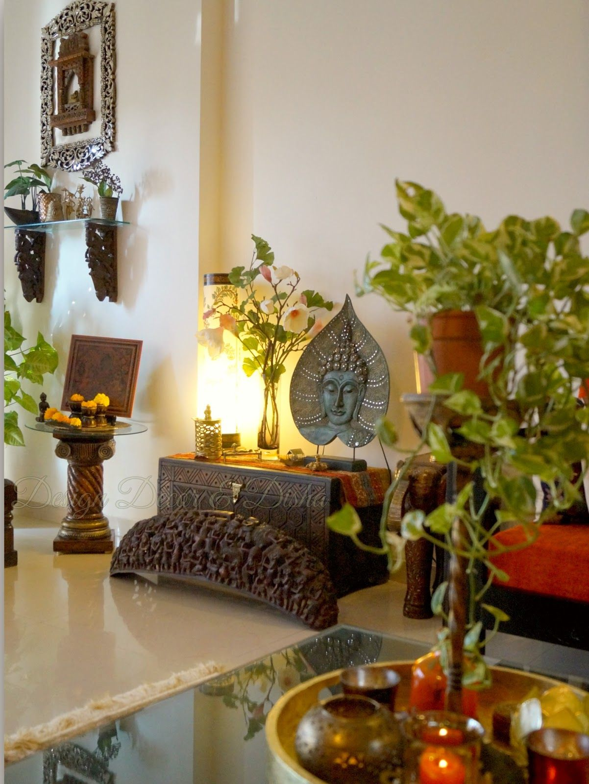 Pin By Radhika Srinivasan On East Indian Influenced Homes Decor