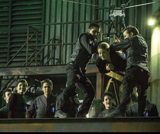 Divergent Zipline Scene Quote Zip line scene (notice...