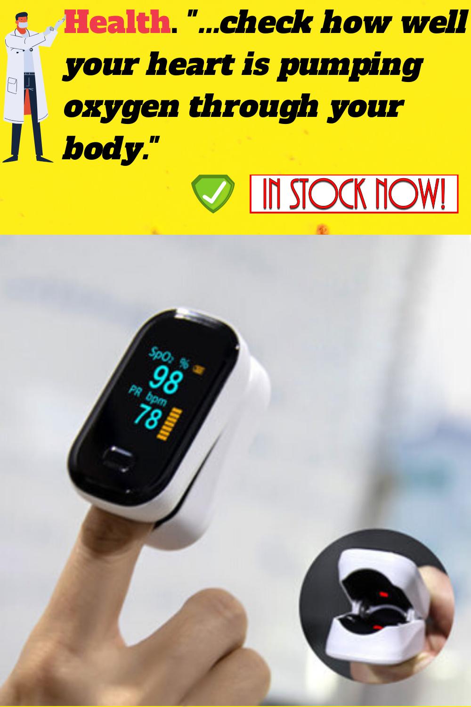 Spo2 Oximeter Pro Increase Heart Rate Health Body Condition