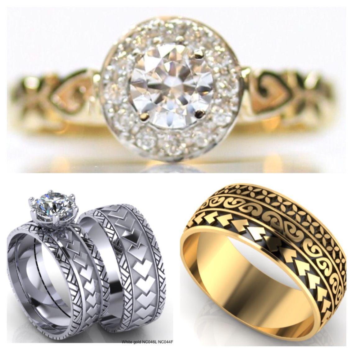 Poly Wedding Rings