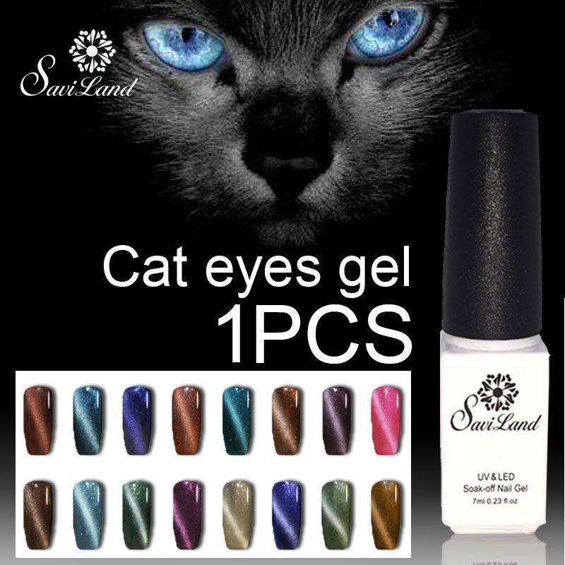 Saviland imán para uñas de gel esmalte de uñas de Gel del ojo de ...