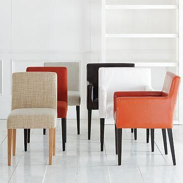 suzie: garvey dining chairs | west elm new dining room chair