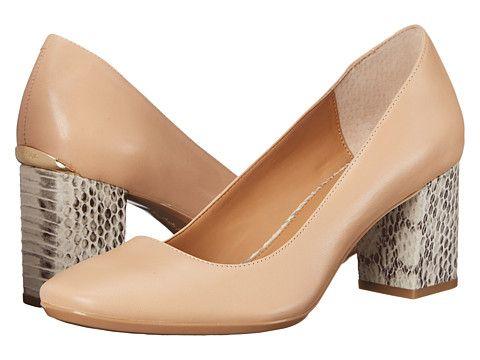 Womens Shoes Calvin Klein Cirilla Sandstorm Leather