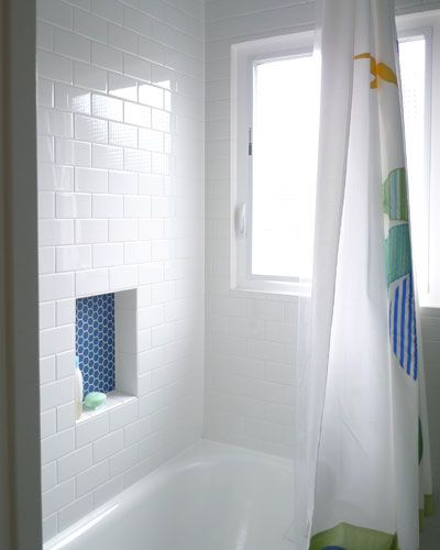 Like The Tile Wall And The Accent Tile In The Soap Dish With